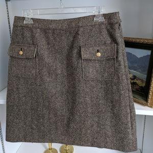 NWT Brooks Brothers 100% Wool skirt